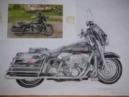 2006 Harley Davidson by D-Angeline
