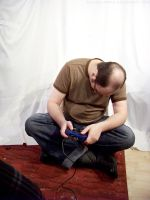 PS2 Guy Sitting : 19 by taeliac-stock