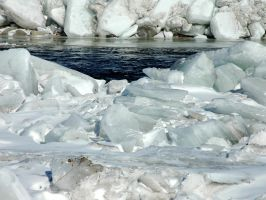 ice packed 2 by LucieG-Stock