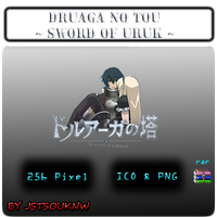 Druaga No Tou - Sword Of Uruk - Anime Icon by jstsouknw