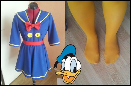 Donald Duck Cosplay by MAJCosplay