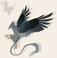 Griffin .:Commission:. by Clojo-733
