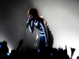 Hayley Williams with Light by shiruken343