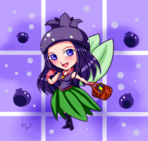 BLUEBERRY loving Fairy by naoguiarts
