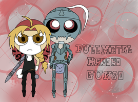 Full Metal Keroro Gunso by RoxysSlushPuppie