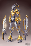 Toa Eltanin (commission) by Kanoro-Studio