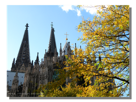 Autumn at Cologne Cathedral by WillFactorMedia