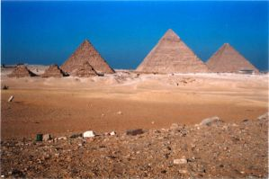 The Great Pyramids by Chatmusse