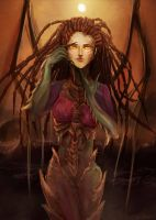 Sarah Kerrigan by SENTWITCH067