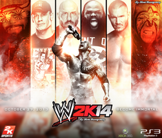 Wwe 2k14 Wallpaper/Poster by Llliiipppsssyyy
