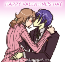 Persona 3 : Happy Valentines by goth-bird