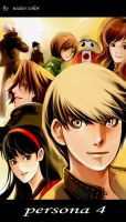 persona4 by wate-rcolor