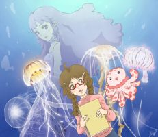 Jellyfish Lovers by DyCherii