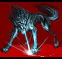 Burnout Wolf of Shadows by TheTyro