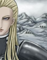 Claymore Rafutela - colored version by ileveria