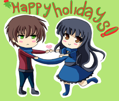 Happy Holidays 2011 by Haoiki