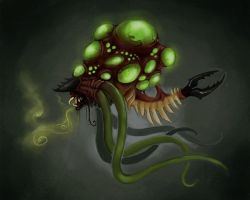 Gas Bladder Monster by Delta-Hexagon