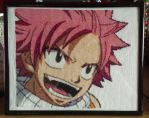 Natsu: Fairy Tail Cross Stitch by prophet1991