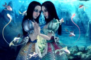 Pisces by AnnaPostal666