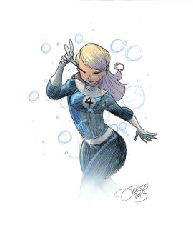 020 - Invisible Woman by JeremyTreece