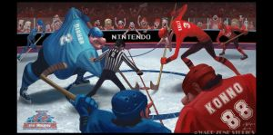 Ice Hockey by Warpzonestudios