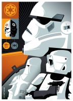 topps: stormtroopers by strongstuff