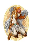 Angel with Armor by blewh