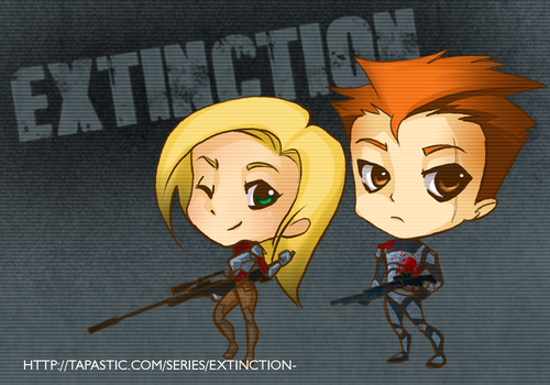 Extinction - Logan and Artemis by mannel1013