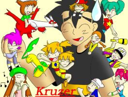 Ash Ketchum ... Ladies man ? by Kruzer