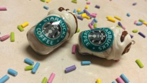Starbuck Coffee Charm by love-dolly