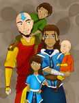 The Avatar's Family by DarbyLucy
