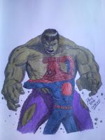 HULK SQUASH BUG-MAN!!! by D-Architect