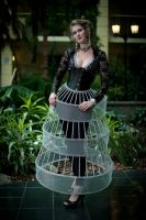 Amy in a Hoop Skirt by Utopia-Armoury