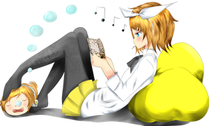 Trying To Read by Hita-san