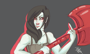 Marceline the Vampire Queen by marpie