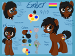 Ember 2015 Reference sheet by EnkiimahArts