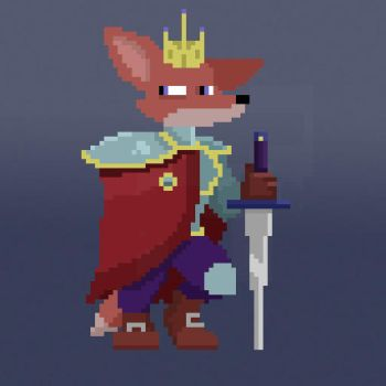 FoxKing by rabbcl