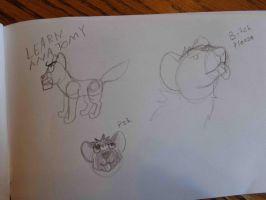 Little Work Doodles by The-Smile-Giver