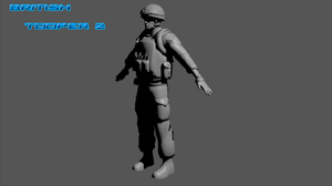 British Soldier 2 by Luckymarine577
