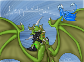 Happy Birthday, Thrae :D by Ysulyan