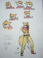 Tails My Style Ref by SkyWhiteFox