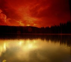 red rain by KariLiimatainen