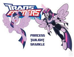 Transformares  Princess Twilight Sparkle by Inspectornills