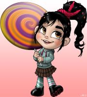 Vanellope Full-Res by CerberusLives