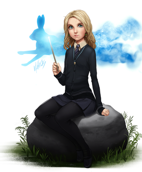 Harry Potter - Luna Lovegood by MLeth