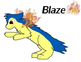 Blaze the Typhlosion by LionersXD