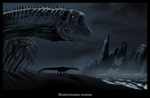 Domeykosaurus chilensis II by highdarktemplar