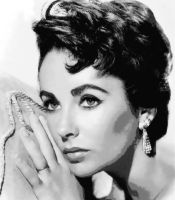 Elizabeth Taylor Paint By Number art kit by numberedart