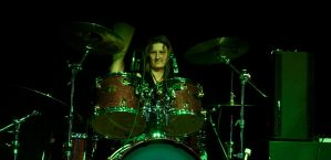 Drums and Ann Batty by DundeePhotographics