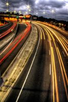 Freeway Lights by riccardo-avocado